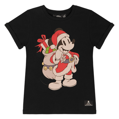 Santa Mickey T-Shirt by Rock Your Kid