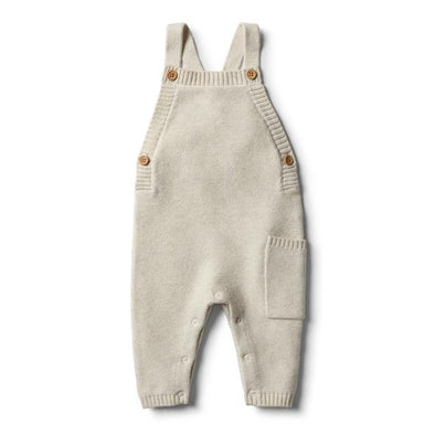 Oatmeal Knitted Overall by Wilson & Frenchy