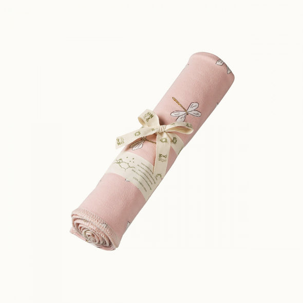 Dragonfly Lily Cotton Wrap by Nature Baby