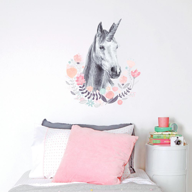 Large Fabric Wall Decals - Unicorn by Love Mae