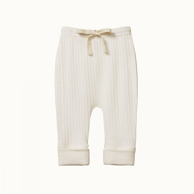 Pointelle Drawstring Pants by Nature Baby