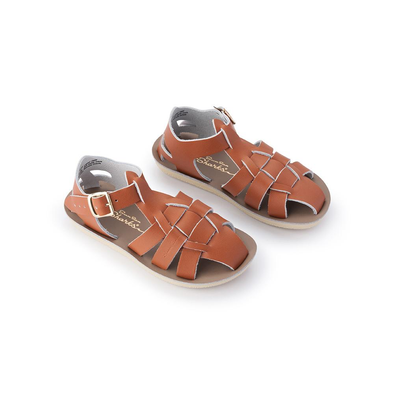 Salt Water Sandals - Shark - Tan