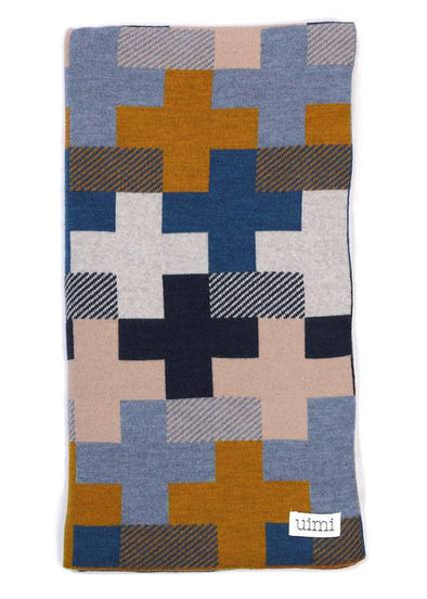 Uimi Max Blanket - Curry - Merino Wool