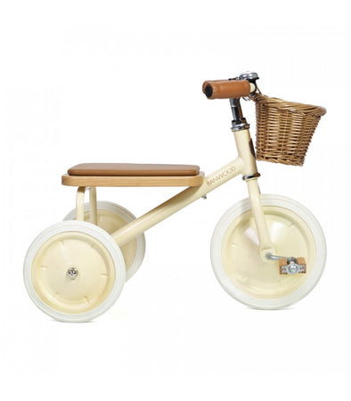 Banwood Trike - Cream (delivery expected early October)