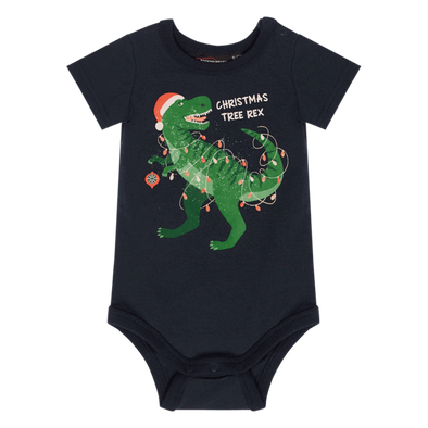 Christmas Tree Rex Bodysuit by Rock Your Baby