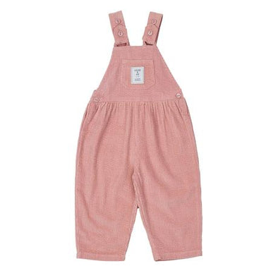 Sammy Corduroy Overalls Pink by Goldie + Ace