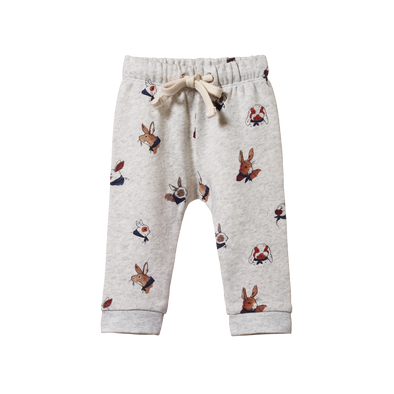 Sunday Track Pants by Nature Baby - Bunny Garden