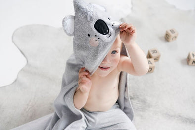 Koala Hooded Towel by Mister Fly