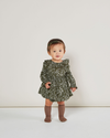 Vines Ruffle Collar Baby Dress by Rylee & Cru