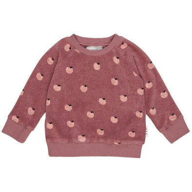 Apple Terry Sweatshirt by Hux Baby