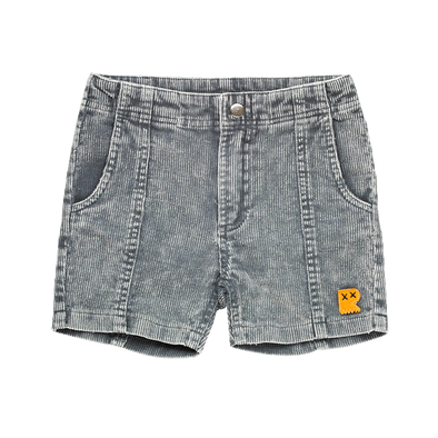 Charcoal Wash Corduroy Shorts by Rock Your Kid
