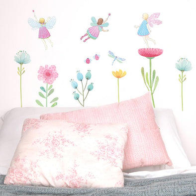 Small Fabric Wall Decals - Fairy Garden by Love Mae