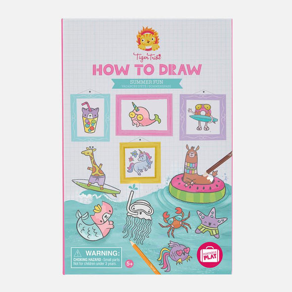 How to draw - Summer Fun by Tiger Tribe