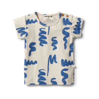 Scribble Short Sleeve Tee by Wilson & Frenchy