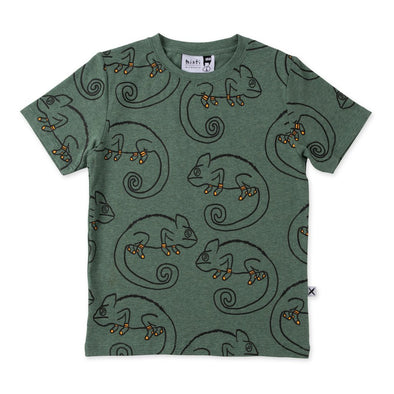 Cosy Chameleons Tee by Minti