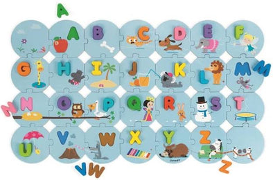 Janod - Learn The Alphabet Puzzle