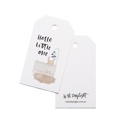 Gift wrapping + Gift Tag