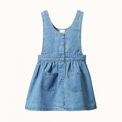 Pia Pinafore by Nature Baby - Sky