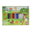 Sticker World - Animals Abound by Tiger Tribe