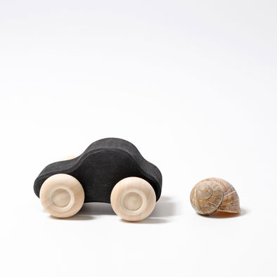 Small Wooden Monochrome Car by Grimm's
