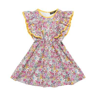 Floral Angel Dress by Rock Your Kid