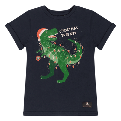 Christmas Tree Rex T-Shirt by Rock Your Kid