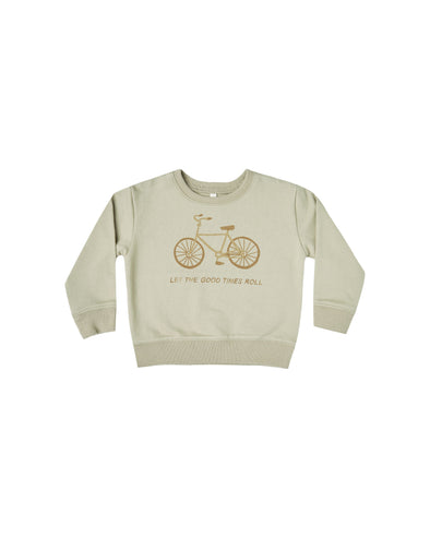 Terry Sweatshirt - Bike by Rylee & Cru