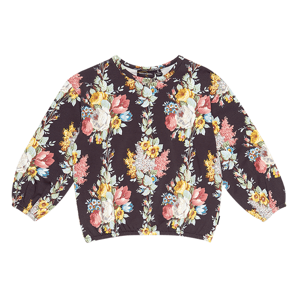 Midnight Chintz LS T-Shirt by Rock Your Kid