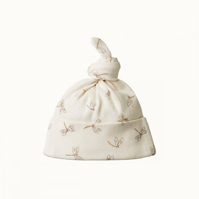 Cotton Knotted Beanie by Nature Baby - Dragonfly