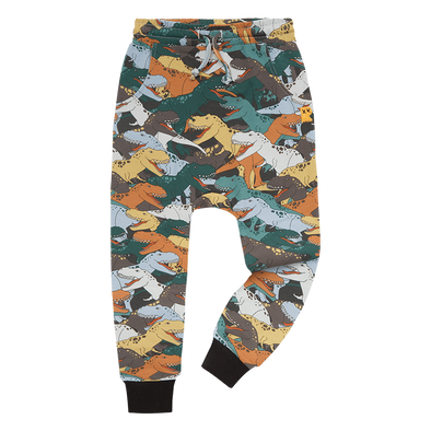 Dino Stampede Track Pants by Rock Your Kid
