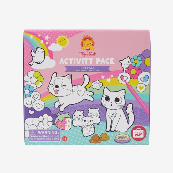 Activity Pack - Pet Pals by Tiger Tribe