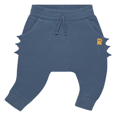 Blue Dino Track Pants by Rock Your Kid