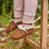 Lambskin Booties by Nature Baby - Cinnamon
