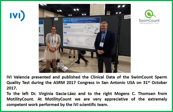 SwimCount at the ASRM 2017 Congress in San Antonio, USA