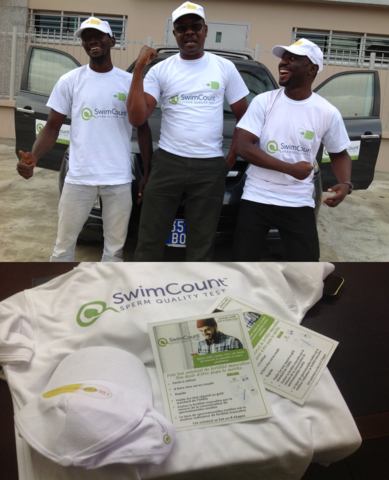 Launch of SwimCount in Ivory Coast