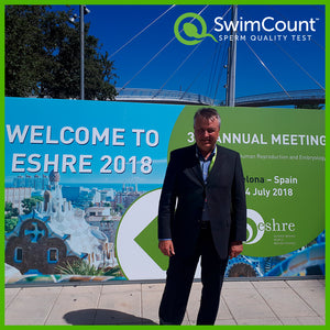 SwimCount attented 'ESHRE Annual Meeting 2018' in Barcelona, Spain