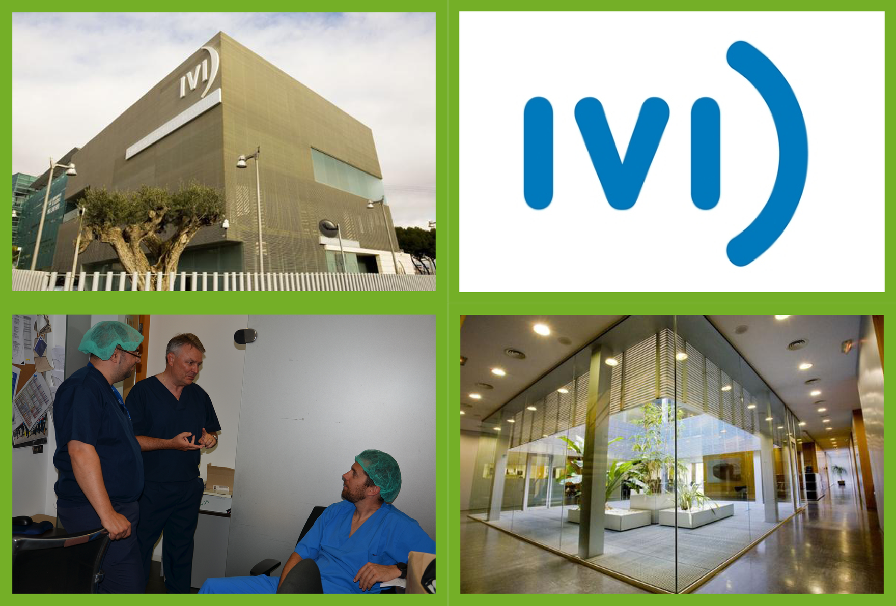 VISITING THE IVI CLINIC, SPAIN