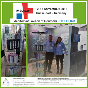SwimCount is attending MEDICA in Düsseldorf, Germany 2018