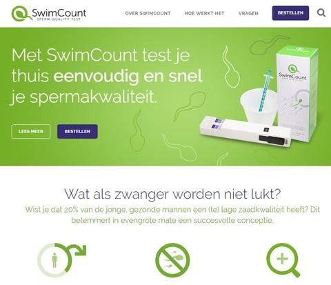 SwimCount is now ready for sale in Benelux!