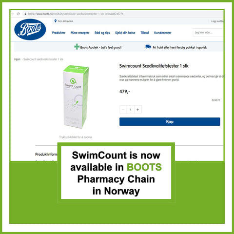 SwimCount in Boots pharmacy chain