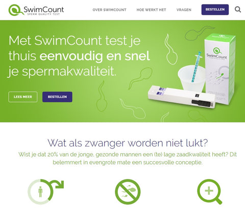 Swimcount Is Now Ready For Sale In Benelux