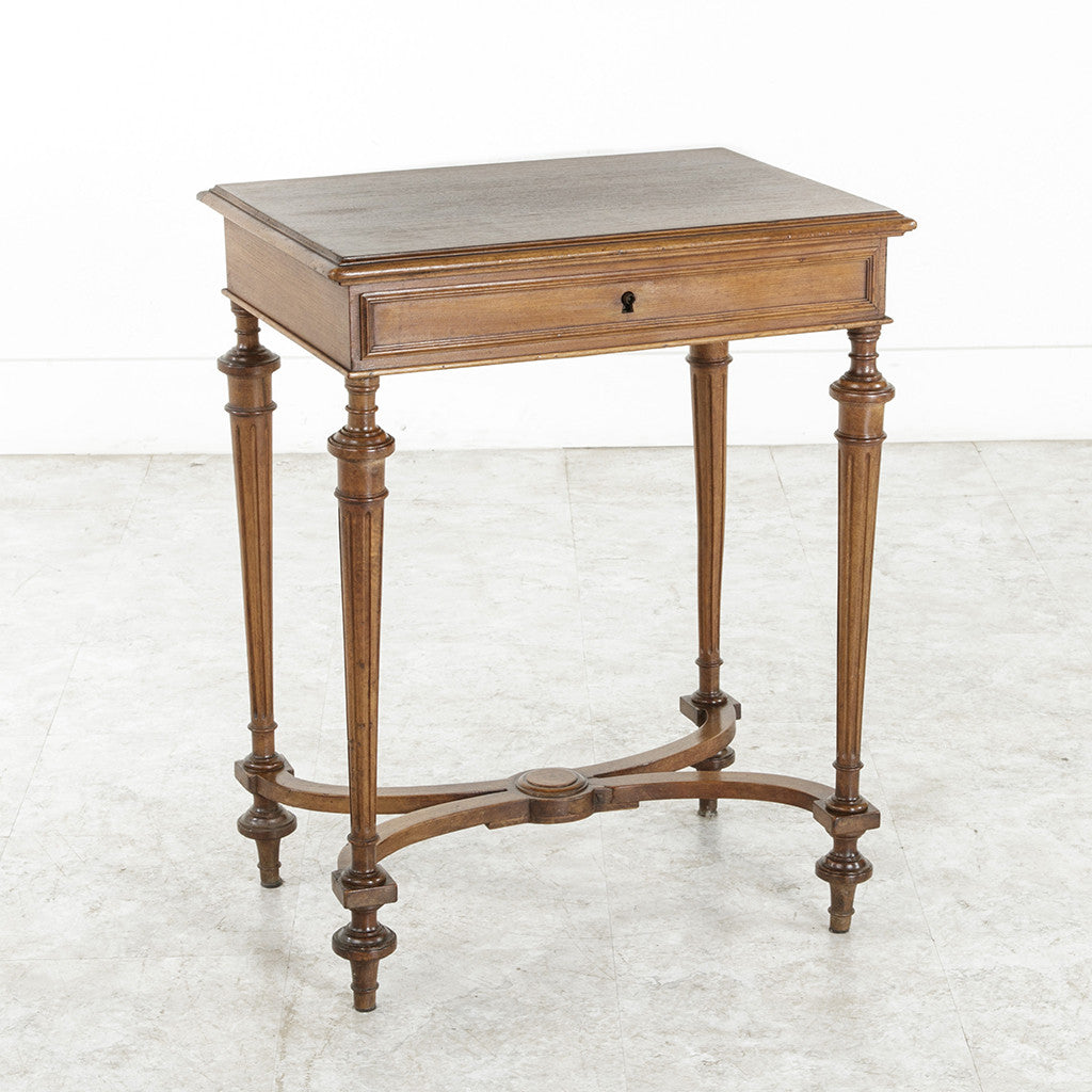 louis xvi side table french metro antiques. Black Bedroom Furniture Sets. Home Design Ideas