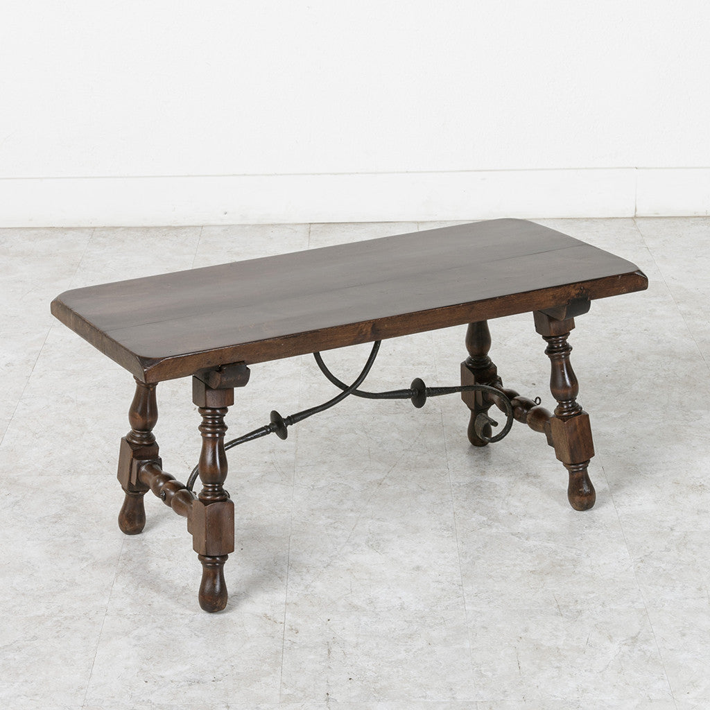 spanish style coffee table - french metro antiques