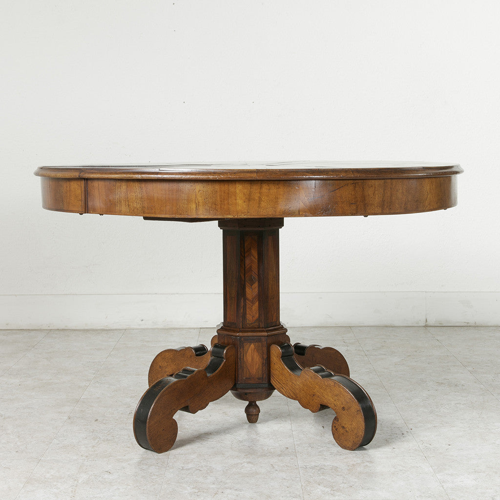 Napoleon iii period pedestal table french metro antiques napoleon iii period pedestal table geotapseo Gallery