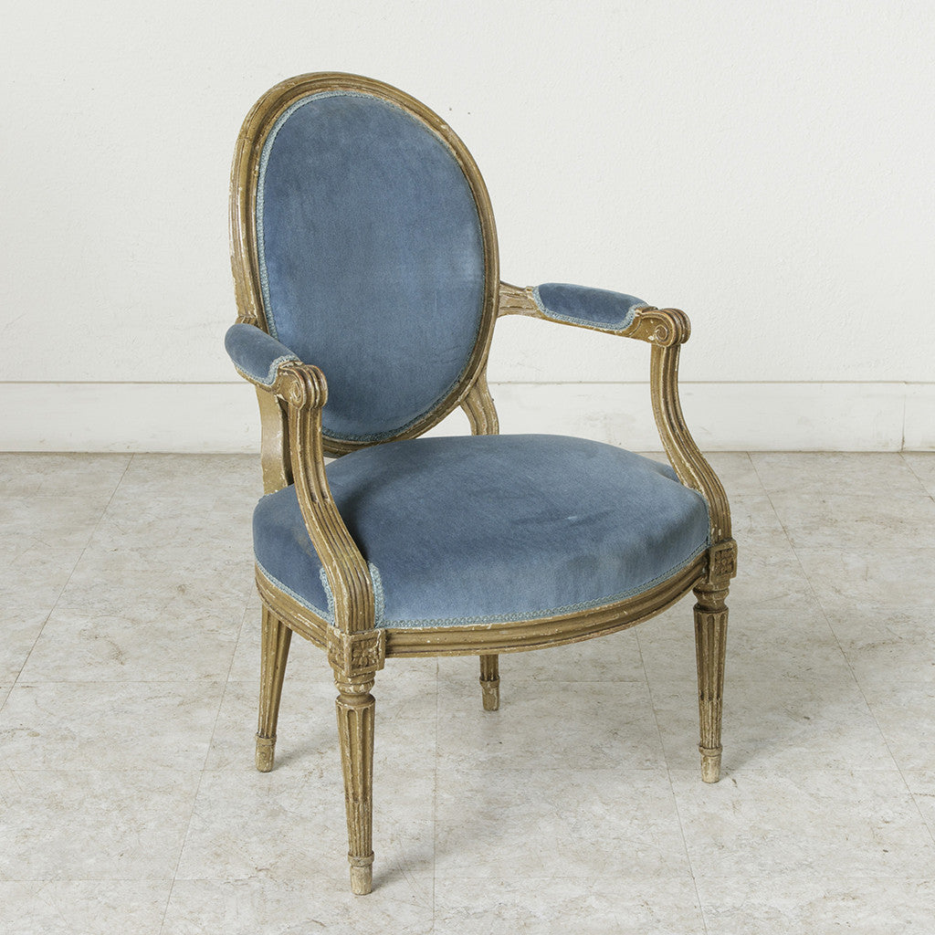 Louis XVI Period Armchair - French Metro Antiques