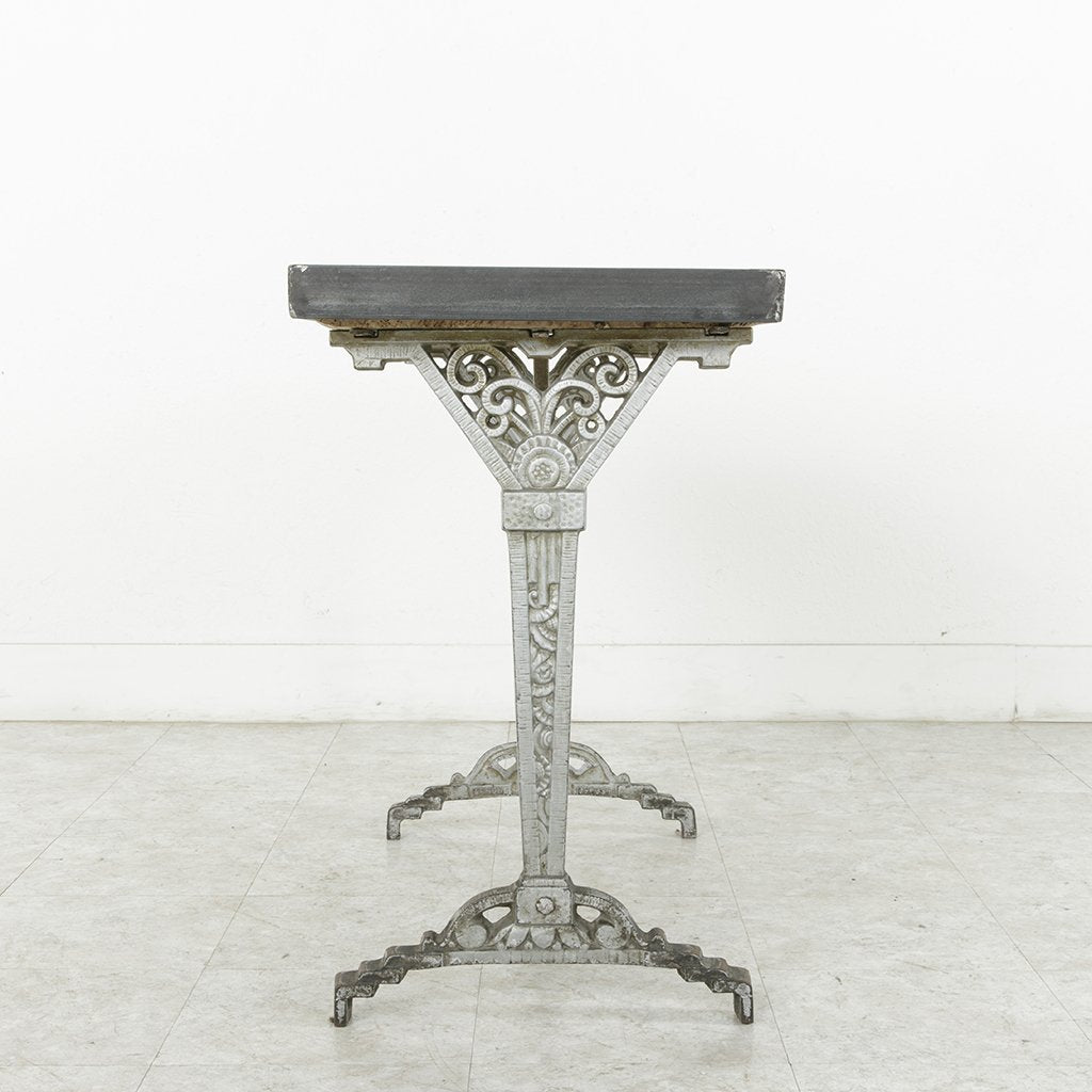 Workbench console table french metro antiques art deco console table geotapseo Image collections