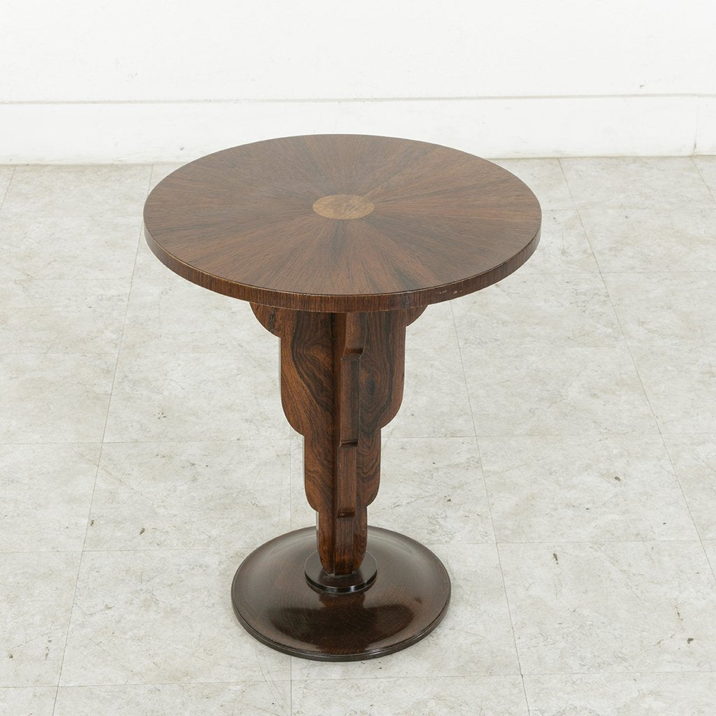 Art deco side table french metro antiques art deco side table geotapseo Images
