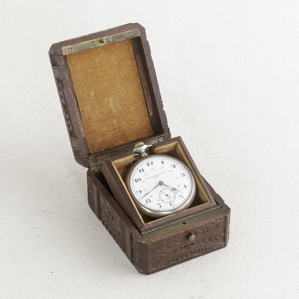 f941feb6a Black Forest Pocket Watch Box - French Metro Antiques