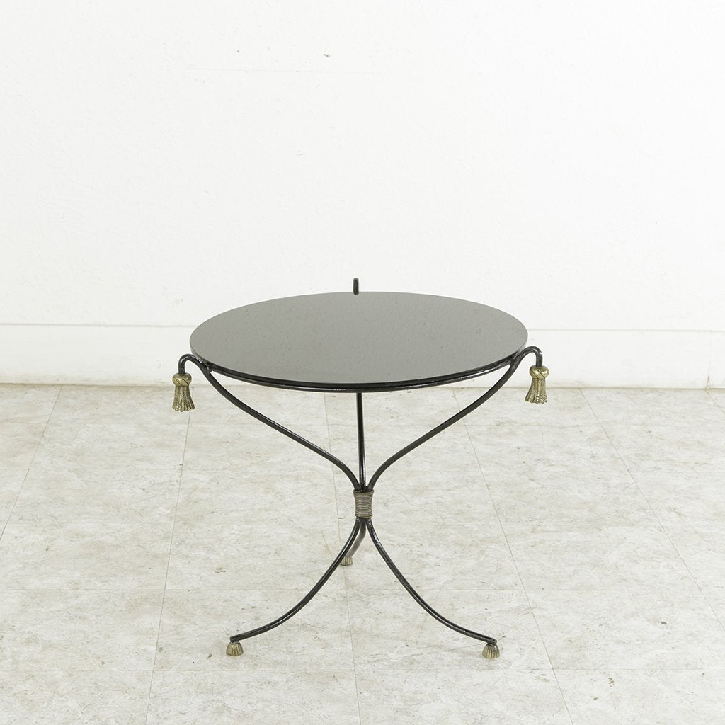 Image of: Mid Century Cocktail Table French Metro Antiques