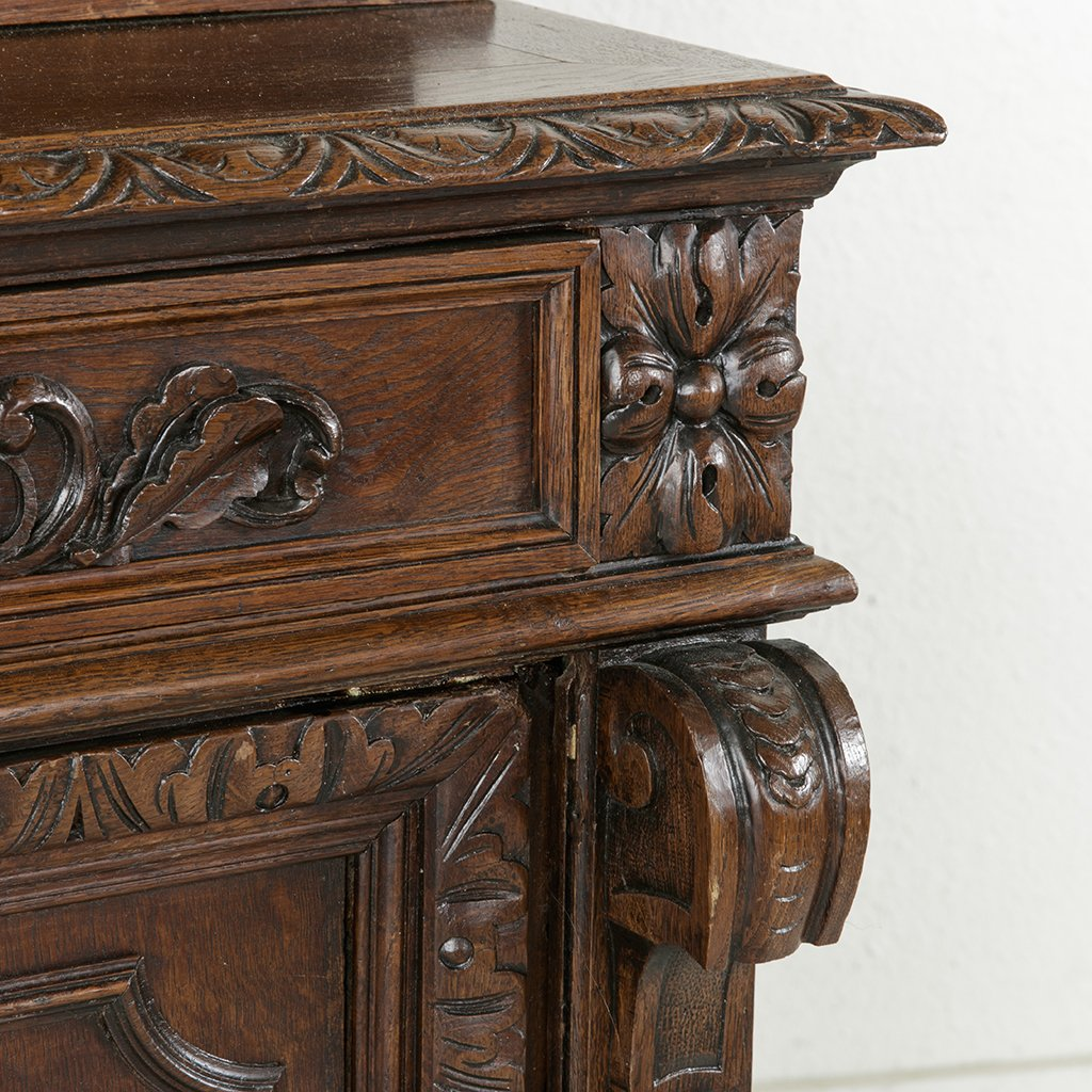 Normandy Buffet Deux Corps - French Metro Antiques